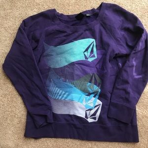 Woman's Volcom sweatshirt L/XL